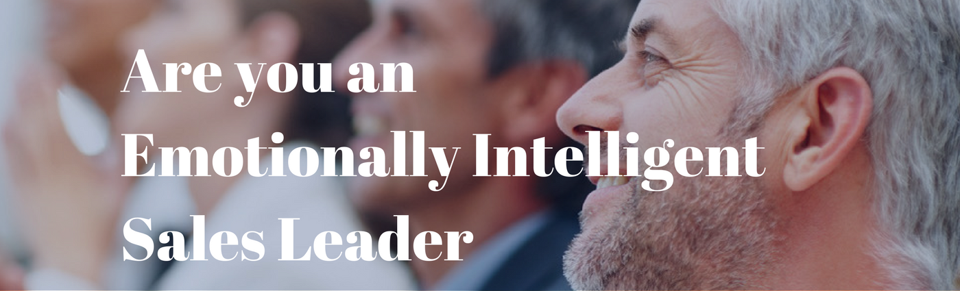 Are you an Emotionally IntelligentSales Leader 2